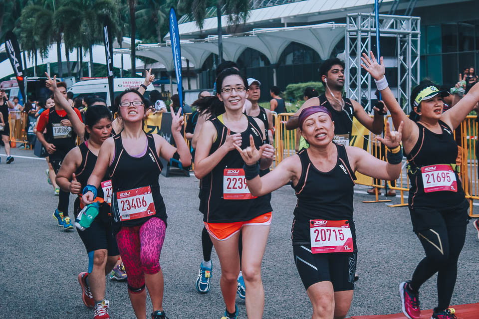 Top 10 Singapore Running Events Of 2017 - 2XU Compression Run