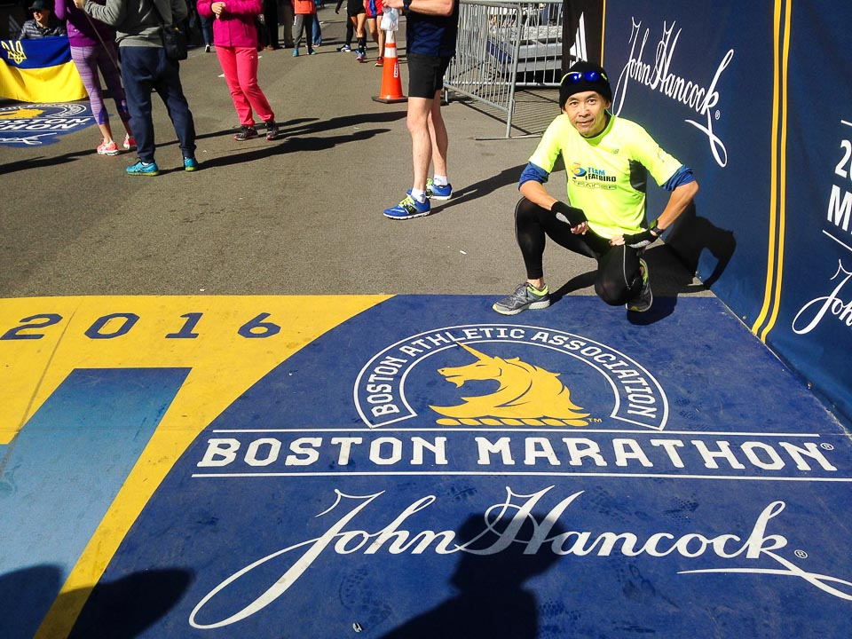 Anthony Sum: From Couch Potato to Boston Marathoner