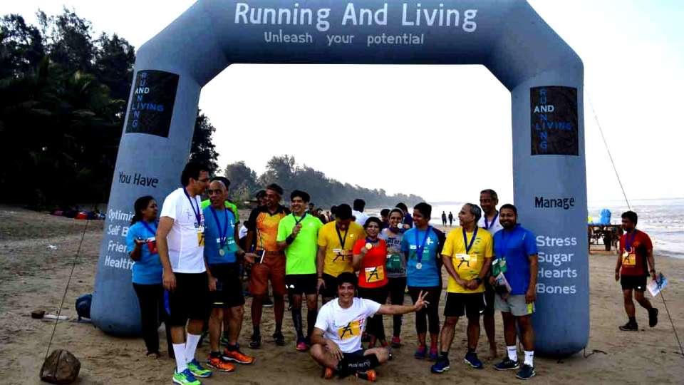 The 6th Kihim Running and Living Beach Half Marathon