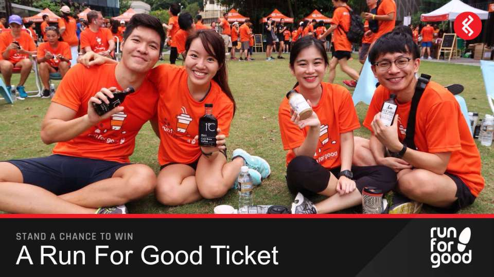Run For Good ticket