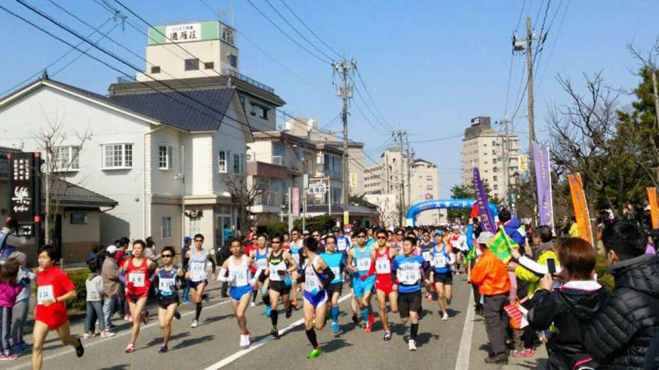 The 35th Carter Memorial Kurobe Meisui Marathon 2018
