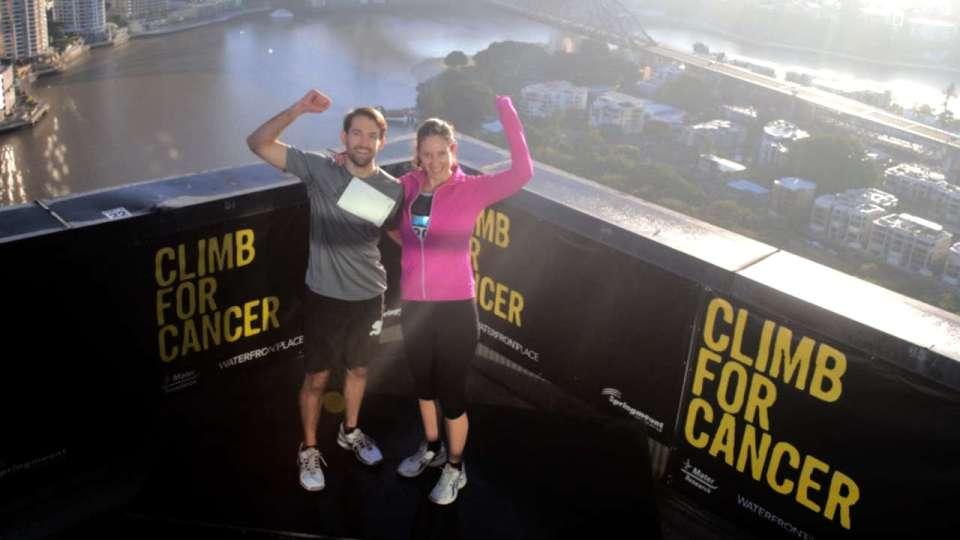 Climb for Cancer 2018