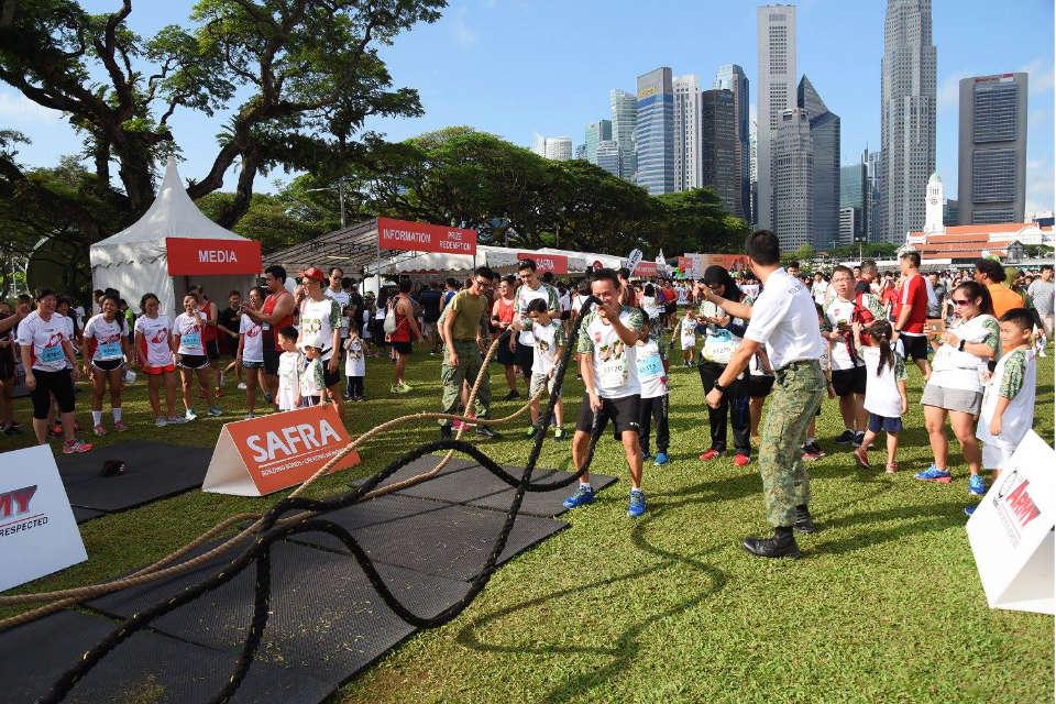 SAFRA Singapore Bay Run & Army Half Marathon To Intensify Runners' Experience