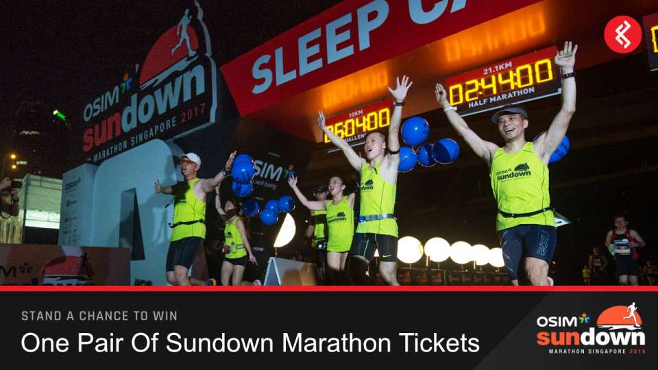 Win a Pair of Sundown Marathon Tickets