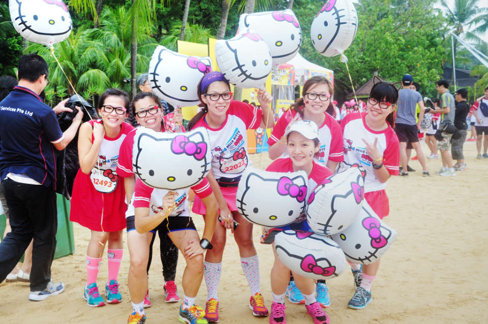 """Show How """"Fruit Smart"""" You Are at Hello Kitty Run Singapore 2018"""