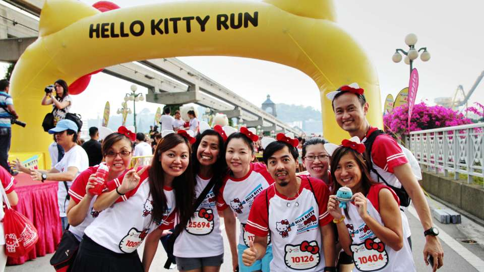 "Show How ""Fruit Smart"" You Are at Hello Kitty Run Singapore 2018"