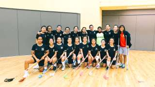 Meet Singapore Polytechnic Girls Floorball Team: From Last Placing To Fourth!