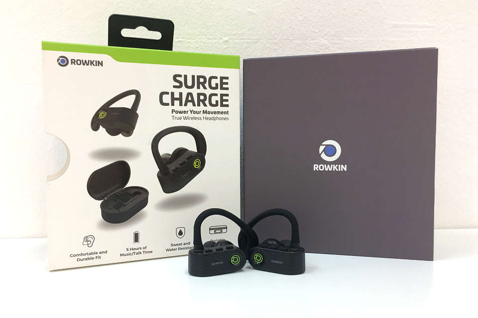 Rowkin Surge Charge: You Can Barely Feel Them On Your Ears!