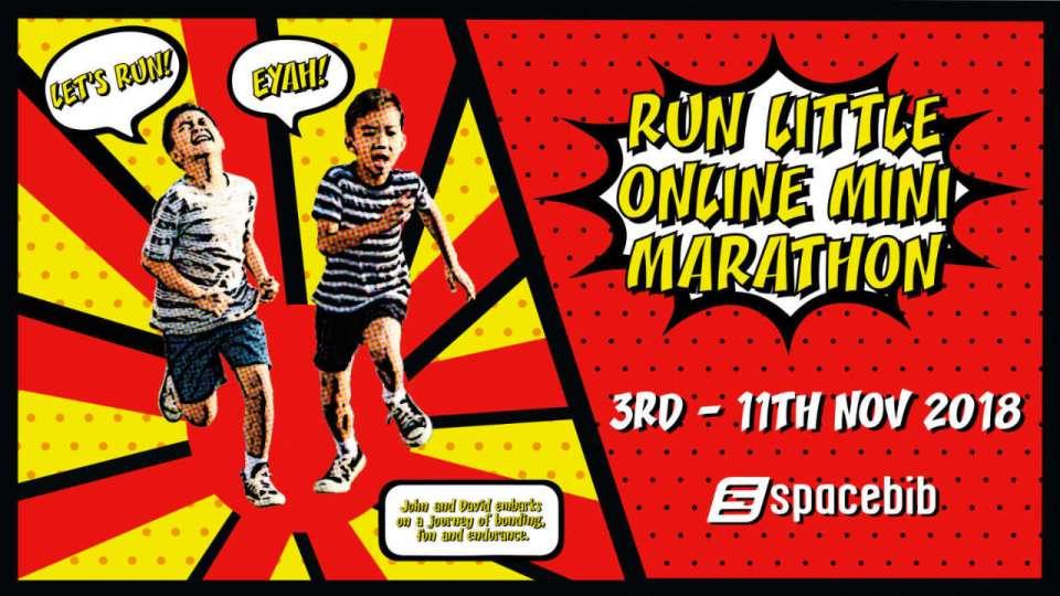 Run Little Mini Online Marathon 2018