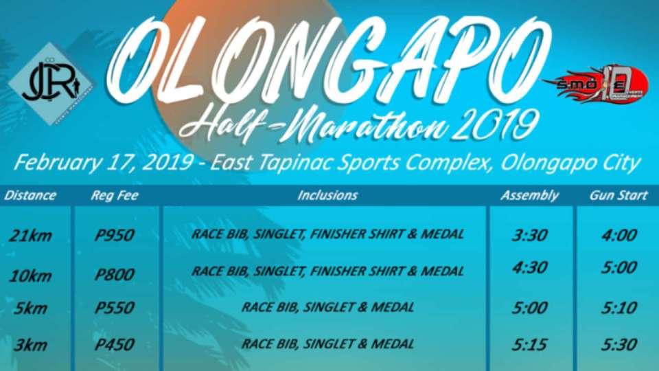 Olongapo Half Marathon 2019