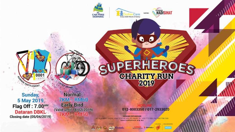 OrphanCare Superheroes Charity Run 2019