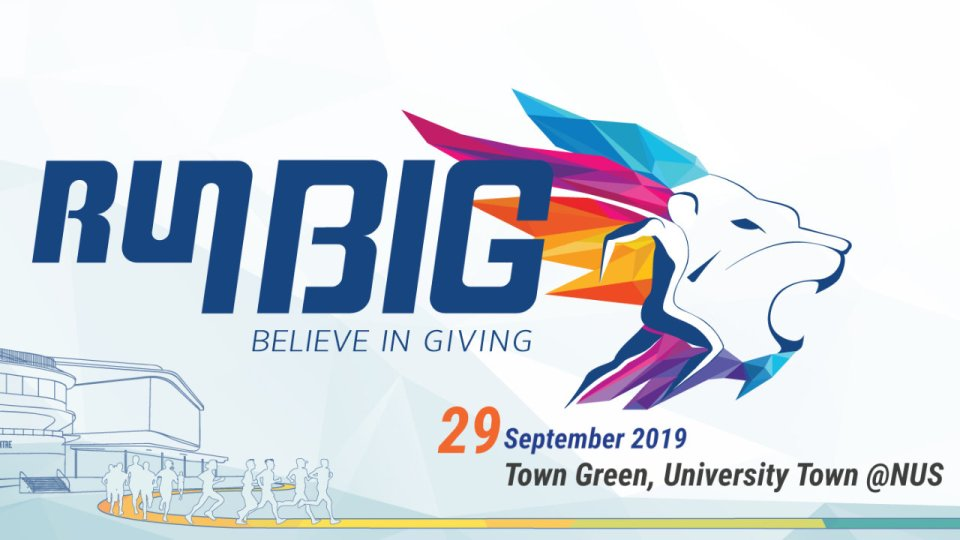 NUS Giving Run BIG 2019