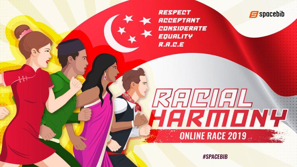 Racial Harmony Online Race 2019