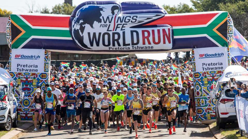 Wings for Life World Run Breaks Records