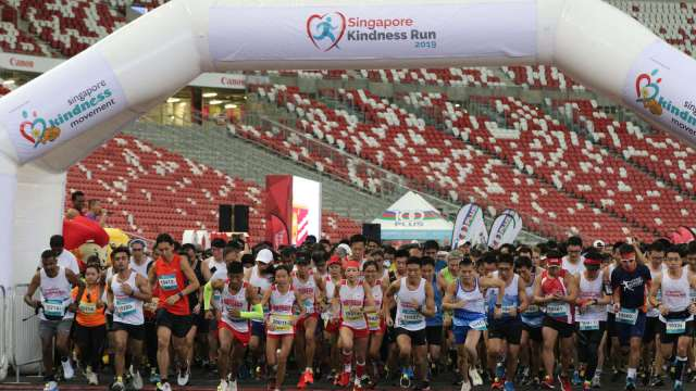 Singapore Kindness Run: 1,500+ Participants Run Towards a More Gracious and Inclusive Singapore