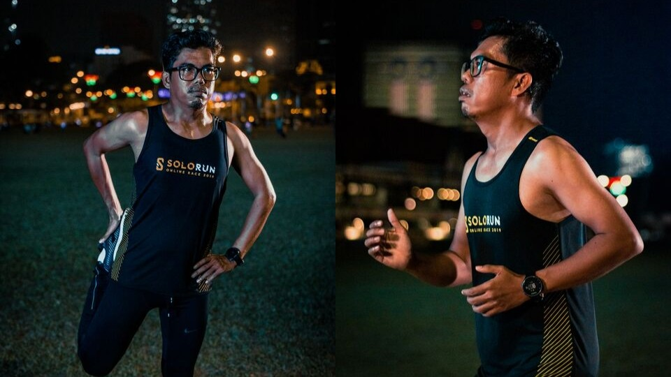 Busy Senior Lecturer Dr. Ramli Bin Ismail Finds Running Solo to Be a Life-Affirming Experience