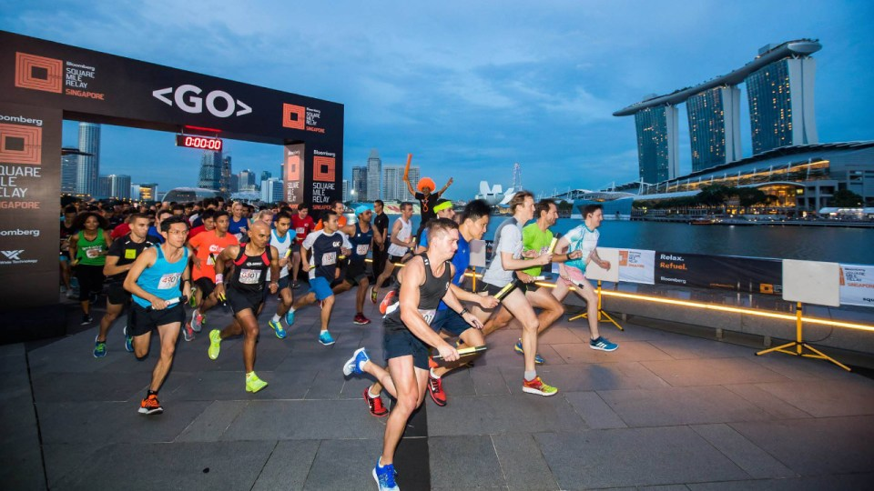 Bloomberg Square Mile Relay Singapore 2019