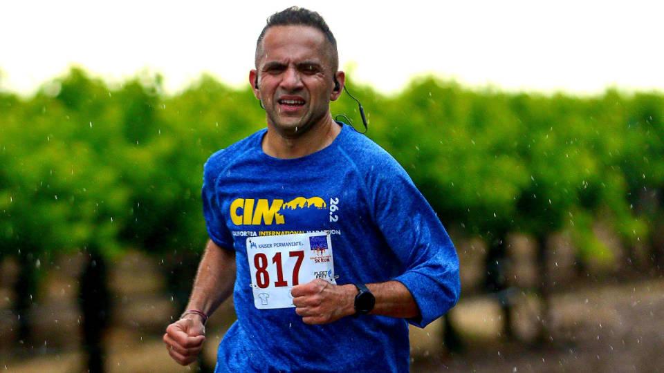 45 Years-Old Marathoner Hard Work Get Him Qualify In Boston Marathon 2020