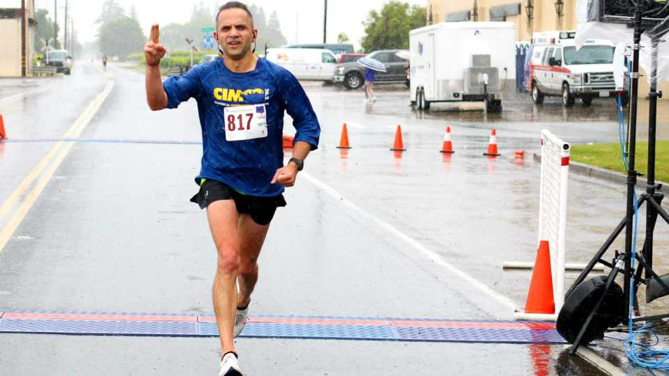 45 Years-Old Marathoner Hard Work Get Him Qualify In Boston Marathon 2020