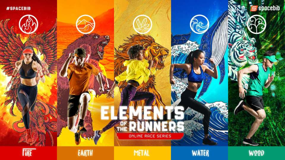 World's First Elements of The Runners Online Race Series Begins