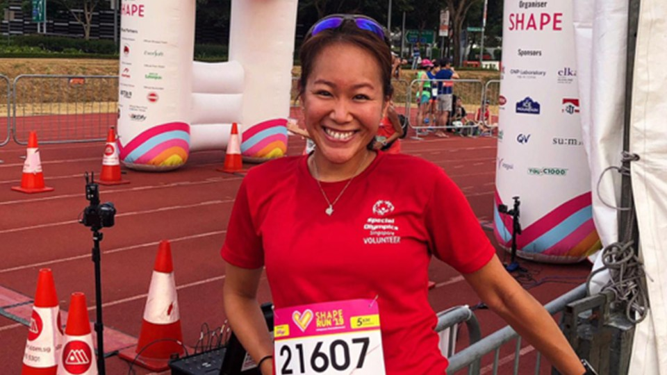 Interview with Denise Foo, a Volunteer Who Shares Her Love for Running with Intellectually Disabled Athletes