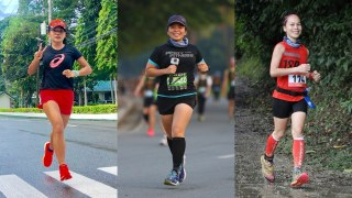Philippines Women Marathoners: Running is a fulfilment