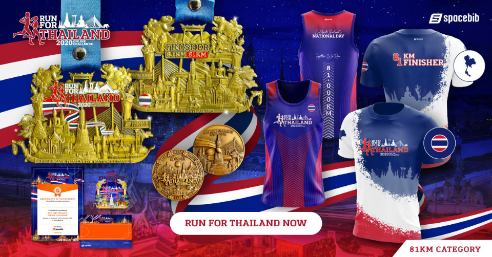 Run For Thailand Online Challenge 2020