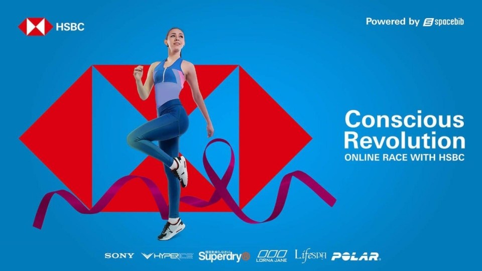 Conscious Revolution Online Race With HSBC
