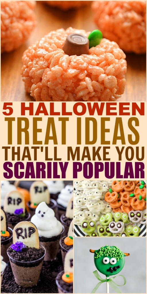 5 Halloween Treat Ideas That Will Make You Scarily Popular