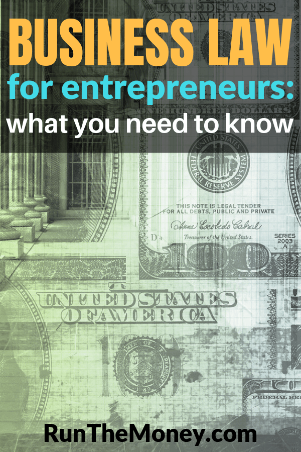 Business Law for Entrepreneurs