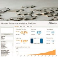 HR Analytics Paltform di QlikTech