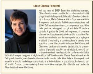 Ci è Chiara Pesatori