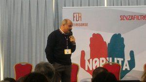 Oscar Farinetti sul palco di Nobìlita