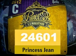 Fun Friday: Bib #24601 Princess Half – Coolest Race Bib Number Ever