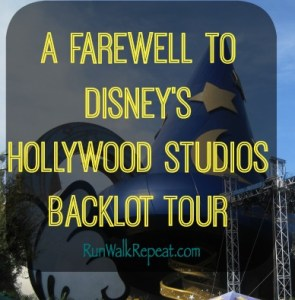 A Farewell to Disney's Hollywood Studios Backlot Tour