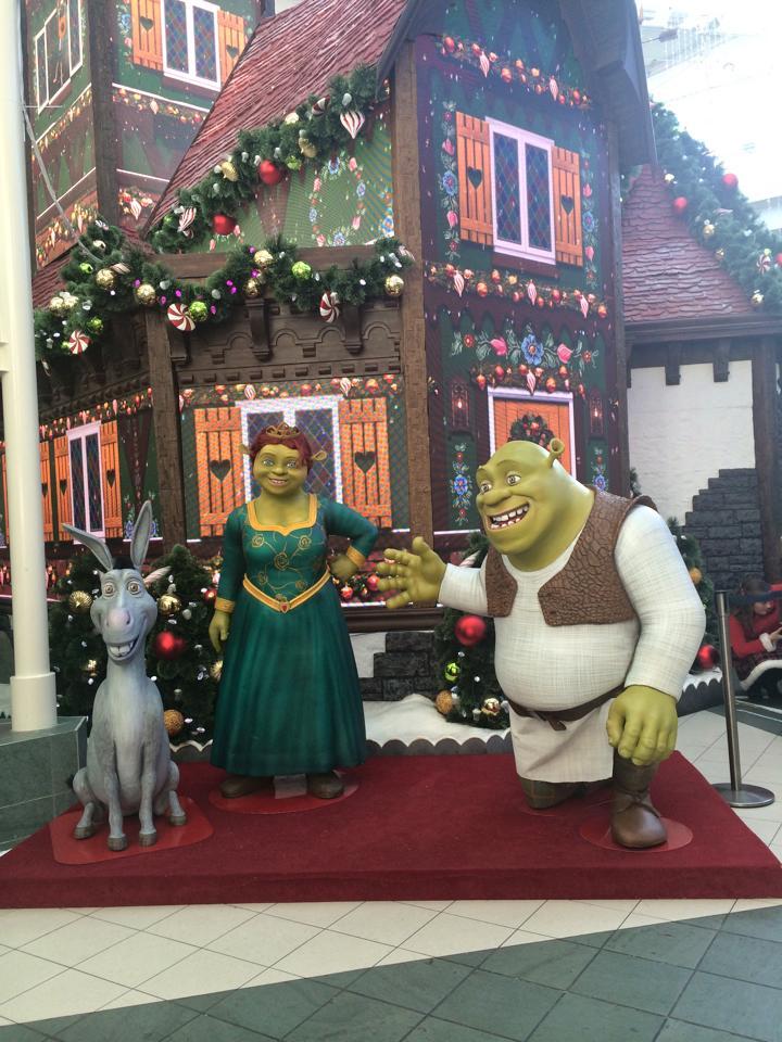 Adventure To Santa Shrek Photo