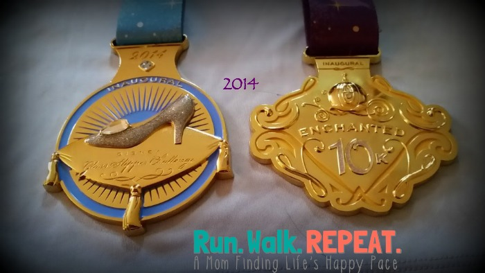 Glass Slipper Challenge Enchanted 10k Medal 2014(1)