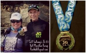 Inaugural Jeff Galloway JG 13.1 Half Marathon Race Recap