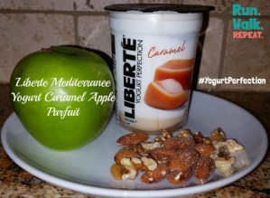 Yogurt Perfection Giveaway – Caramel Apple Parfait with Liberte Mediterranee Yogurt