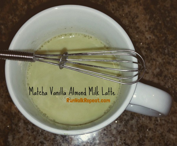matcha latte almond milk