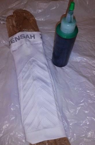 zensah white dye