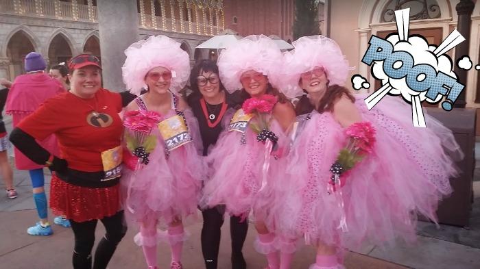Pink PUff ladies enchanted 10k