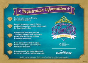Get Ready to Register for Princess Half 2015