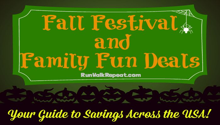 fall festival and family fun deals