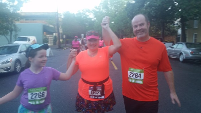 The family that runs together....