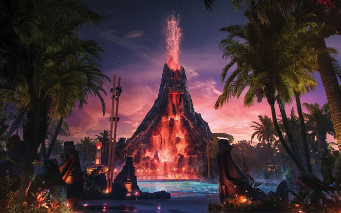 Univerals Volcano Bay Water Coaster