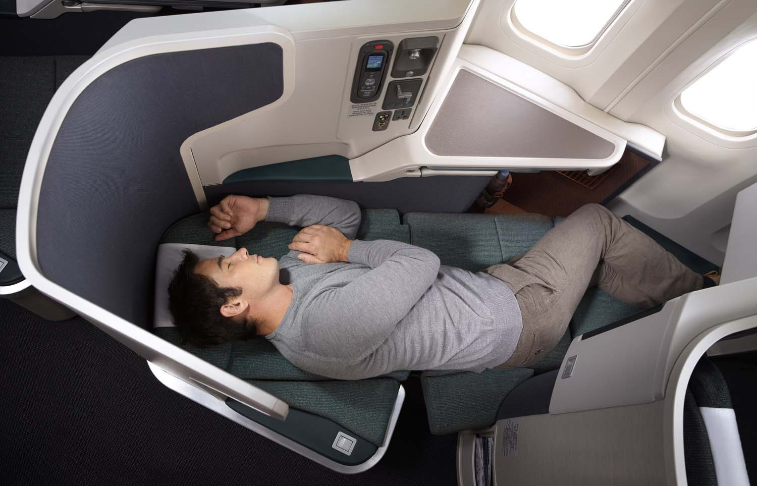 When it comes to seat amenity has business class hit its ...