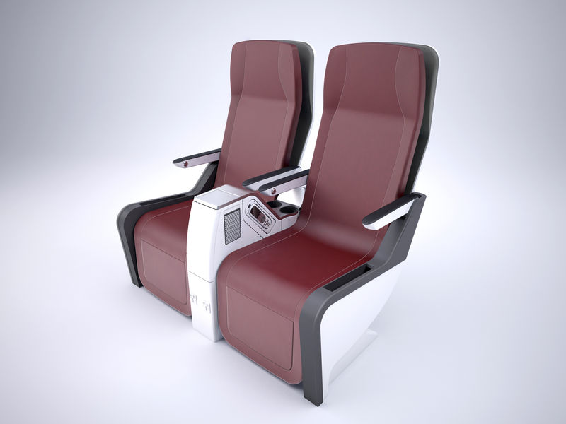 When the lines of premium economy are blurred, seats like this compete with standard economy seats. Image, Stelia