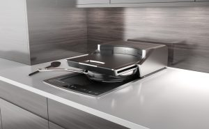 A variety of cookware and an integral hood will provide variety while ensuring safety. Image - Lufthansa