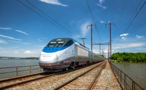The NEC is home to one of the busiest, most complex, and most technically advanced rail systems in the world, with over 2,000 trains on Amtrak-controlled segments each weekday. This traffic mix includes freight trains traveling at speeds of 30-50 mph, commuter trains at speeds up to 125 mph, Amtrak Regional trains at 110 or 125 mph, and Acela Express trains that can reach 150 mph. This makes it the fastest railroad in the Americas, and among the ten fastest in the world.